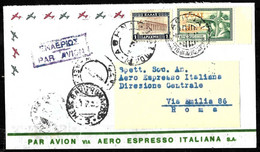 E-244 - GREECE - ITALY - 1933 - AIR MAIL - UNCOMMON  COVER  -  TO CHECK, SOLD AS IS - Non Classés