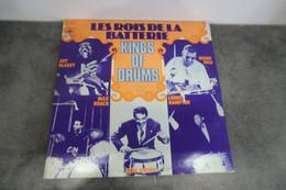 Disque Les Rois De La Batterie Kings Of Drums - CBS 88136 - 2 X Vinyle, LP, France 1975 - Jazz