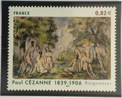 "Timbre Neuf France MNH 2006 : Paul Cézanne (1839-1906) ""Baigneuses"" - Ongebruikt"