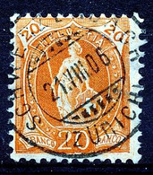 "HELVETIA - Mi Nr 74 - ""SCHWERZENBACH"" - (ref. 2830) - Oblitérés"