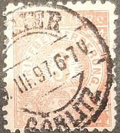 Germany Stadtpost/Privatpost Görlitz 1896 3 Pfg Used Michel B3 - Sello Particular
