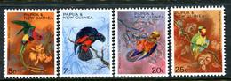Papua New Guinea 1967 Christmas - Parrots Set MNH (SG 121-124) - Papouasie-Nouvelle-Guinée