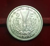 Camerún Cameroun 2 Francs 1948 Km 9 SC UNC - Camerun