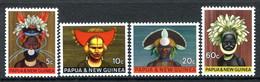 Papua New Guinea 1968 National Heritage Set LHM (SG 125-128) - Papouasie-Nouvelle-Guinée