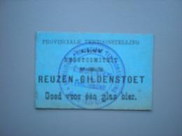 GENT - GAND - Provinciale Tentoonstelling 1899 - Bier - Stoet - Cortège - Reuzen - Géants - Gent