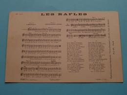 Les RAFLES - Paroles De Montéhus - Music Chantegrelet & Doubis ( H.J.W. Paris / N° 187 ) 19?? ( Voir Photo ) ! - Musica