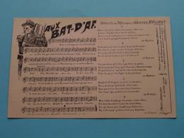 Aux BAT-D'AF. Paroles & Musique D'Aristide BRUANT ( Le Gorde Paris ) 19?? ( Voir Photo ) ! - Music