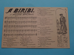 A BARIBI Paroles & Musique D'Aristide BRUANT ( Le Gorde Paris ) 19?? ( Voir Photo ) ! - Music