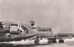 """CPA - Bréguet Deux Ponts - Compagnie Air France Sur L'aérogare """" El Aouina """" De Tunis - 1946-....: Era Moderna"""