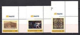 Latvia 2011 Personalized Stamps. Mi 811 - 813 Corner TR - Lettonia