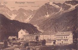 Seltene ALTE  AK   MACUGNAGA  / Piemont  - Teilansicht - 1905 Ca. Gedruckt - Altre Città