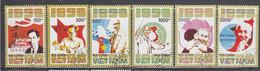 Vietnam 1990 - 100th Birthday Of Ho Chi MInh, Mi-Nr. 2176/81, Used - Vietnam
