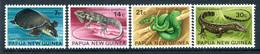 Papua New Guinea 1972 Fauna Conservation - Reptiles Set MNH (SG 216-219) - Papua New Guinea