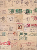 SUISSE SWISS HELVETIA - Lot De 266 Entiers Postaux Anciens Entier Postal Carte-Correspondance Old Stationery Post Card - Stamped Stationery