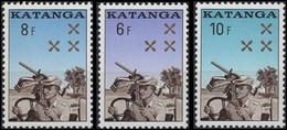 79/81** - Gendarmerie Katangaise / Katangese Rijkswacht - KATANGA - Katanga