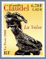 "Timbre Neuf France MNH 2000 : Camille Claudel ""La Valse"" - Ongebruikt"