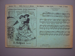 BRUSSEL - BRUXELLES - Carnaval 1912 - Bal Masqué - Théâtre De La Monnaie - Tango - Dans - Danse - Fiestas, Celebraciones