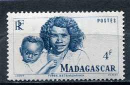 MADAGASCAR  N°  312 **  (Y&T)  (Neuf) - Ungebraucht