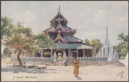 A Zeyat, Mandalay, C.1910s - Tuck's Oilette Postcard - Myanmar (Burma)