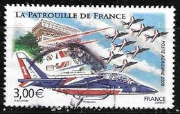 France Poste Aérienne 71 Alphajet Et Patrouille De France 2008 Oblitéré - 1960-.... Matasellados