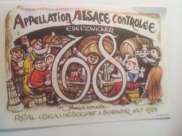 D-K-10 NOACK  ETIQUETTES  VINS D ALSACE - Alsace