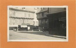 VANNES (Morbihan) - Place Henri IV (photo En 1933, Format  11,2cm X 6,7cm) - Luoghi