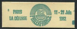 FRANCE - CARNET N° 2155 -C 2 -  * * - CONF 3 - COMPLET FERME & LUXE - Definitives