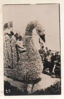 @@@ CARTE PHOTO FETE DES FLEURS 1936 Les Sables D Olonne Cliché J M MARTIN Photo 45 Rue Du Palais - Sables D'Olonne