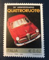 2006 - Italia - Quattroruote - E. 0,62 - 2001-10: Mint/hinged