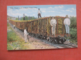 Train Load Of Sugar Cane     Cuba   Ref  4633 - Cuba