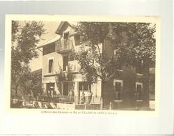 38 L'hôtel Des Skieurs En été Au Villard De Lans Sommacal Propriétaire édit. Pubicit Mollaret - Villard-de-Lans