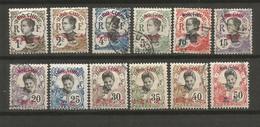 Timbre De Colonie Française  Mong-tzeu Oblitéré Et Neuf * N 34 A /50  Manque Les N 46 / 47 / 48 /49 / 50 - Oblitérés