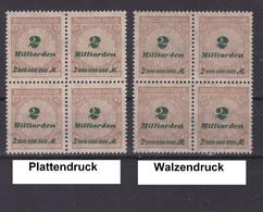 MiNr. 326 ** Platten- + Walzendruck - Nuevos