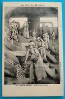 Carte Postale Ancienne  - Série-  La Vie Du Mineur -triage Du Charbon - Mijnen