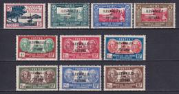 WALLIS ET FUTUNA - YVERT N°77/86 * MLH - COTE 2015 = 12.5 EUR - Unused Stamps