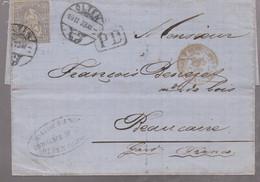 LSC - OLTEN / 19.11.73 à BEAUCAIRE - Briefe U. Dokumente