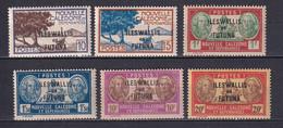 WALLIS ET FUTUNA - YVERT N°125/130 * MLH - COTE 2015 = 12.25 EUR - Unused Stamps