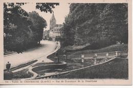 Vallee De Chevreuse Vue De Dampierre De La Demi Lune - Dampierre En Yvelines