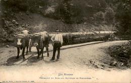 France - Frankrijk - Les Voges - Transport Du Bois - Plombieres - 1909 - Sin Clasificación