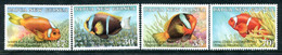 Papua New Guinea 1987 Anemonefish Set MNH (SG 539-542) - Papouasie-Nouvelle-Guinée