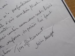 DUC De LEVIS MIREPOIX (1884-1981) Historien ACADEMIE FRANCAISE Autographe - Autografi
