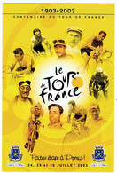 2003 / Centenaire Du Tour De France à Pornic / Anquetil, Coppi, Bartali ... - Cyclisme
