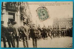 Carte Postale Ancienne - Obsèques Du Lieutenant Lautour 20 Avril 1906 - Mijnen
