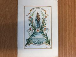 Holycard Image Pieuse Souvenir Notre Dame De La Garde Marseille France Prière Bonamy Edit. - Devotion Images