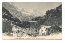 Traschsellauenen Et Le Breithorn - Vallee De Lauterbrunnen - Old Swiss Postcard Advertising Cailler's Milk Chocolate - BE Berne