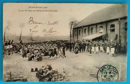 Carte Postale Ancienne - Les Grèves De Lens 1906- Le 94 è De Ligne Aux Haras Du Grand Condé - Mijnen