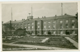 Den Helder 1952; Commandementsgebouw Kon. Marine - Gelopen. (Eigen Uit Gave?) - Den Helder