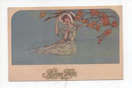 """Belle  Dame  Sous  L,arbre    """"   Bonne  Fete """" - Zandrino"""