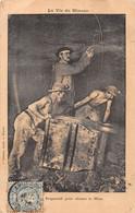 ¤¤  - Lot De 5 Cartes   -   Mineurs   -  Mine, Charbon        -  ¤¤ - Mines