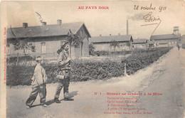 """¤¤  - Lot De 5 Cartes   -  Série """" AU PAYS NOIR """" Numéro De 1 à 5   -   Mineurs   -  Mine, Charbon        -  ¤¤ - Mines"""